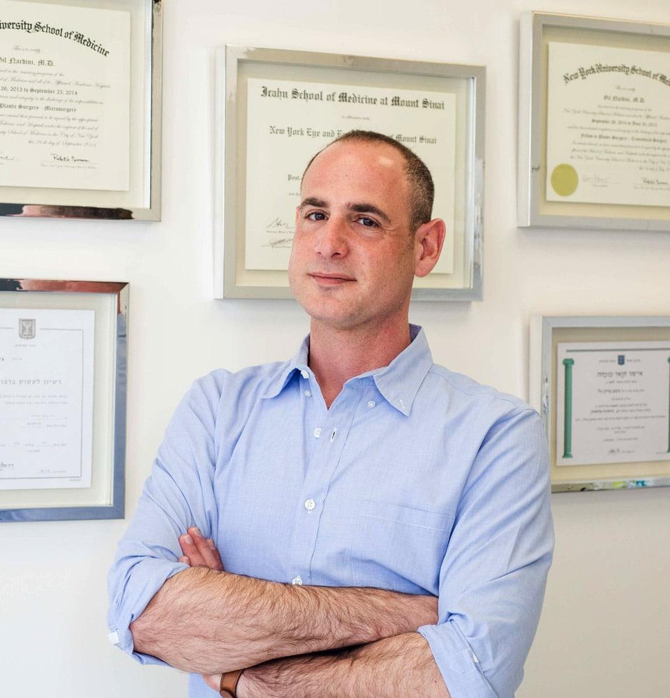"""ד""""ר גיל נרדיני מומחה כירורגיה פלסטית"""
